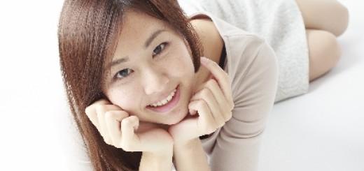色っぽい笑顔